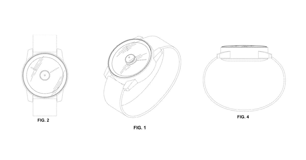 Google Might Release A Smartwatch With A Hole-Punch Camera